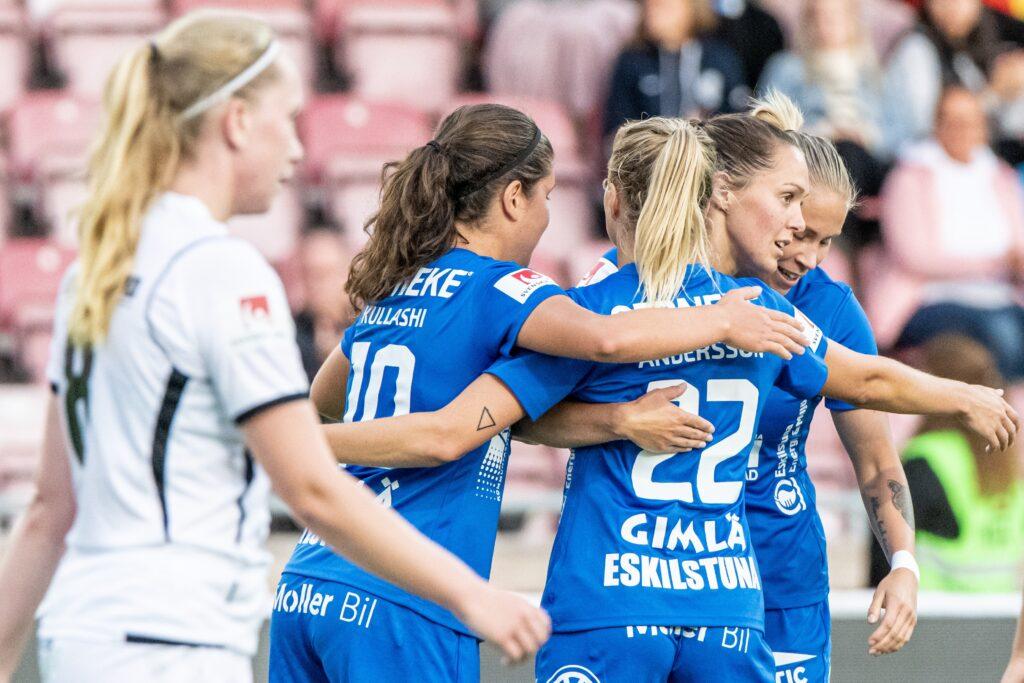 Eskilstuna United DFF – Kungsbacka DFF