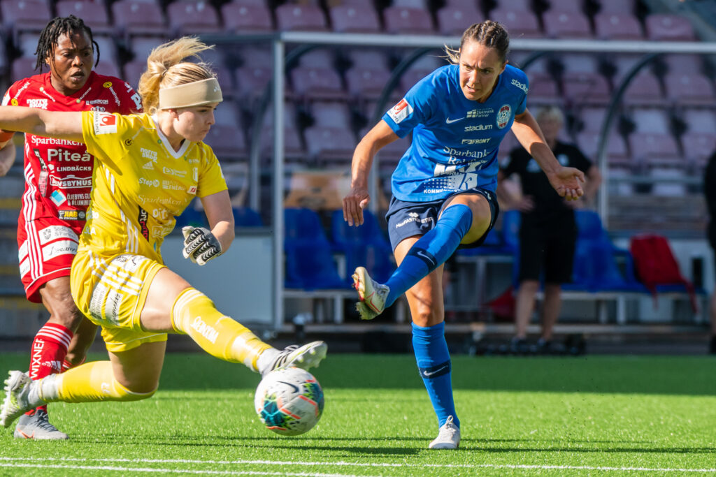 Eskilstuna United DFF – Piteå IF